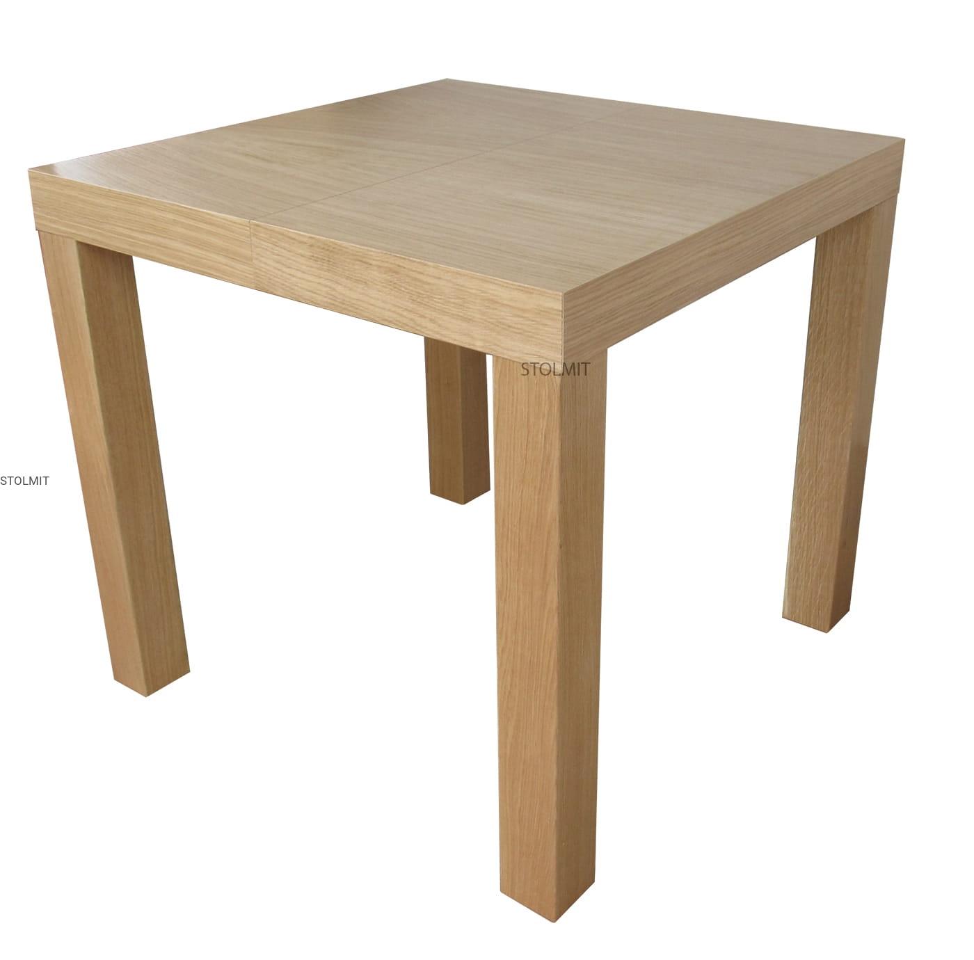 Stół Kwadratowy Cały Dębowy Wymiary Stolmitmeble