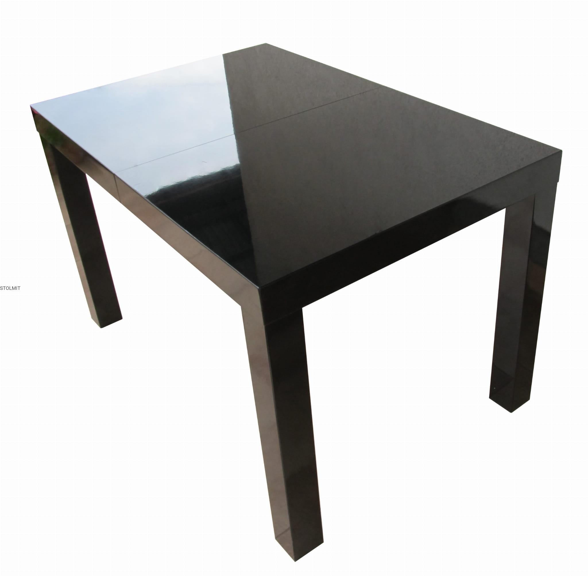 Wszystkie nowe Rozkładany lub w całości stół czarny połysk - na wymiar stolmit.meble RD45