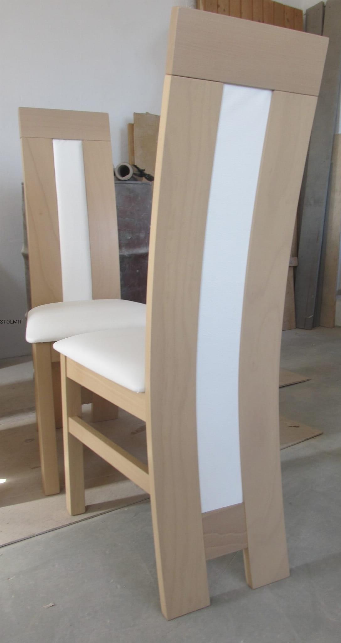 Fantastyczny Kwadratowy stół ze szkłem + 4 krzesła - dąb sonoma stolmit.meble NK27